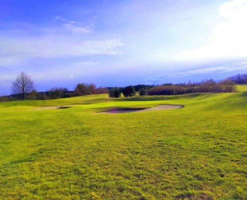 golfclub praforst loch 2