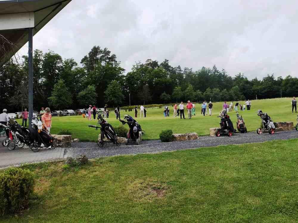 Gemeinsam Golfen Turnier Golfclub Praforst 2017 mit 112 Teilnehmern ein voller Erfolg