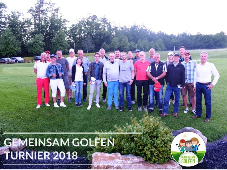 Gemeinsam Golfen Turnier im Golfclub Praforst in 2018