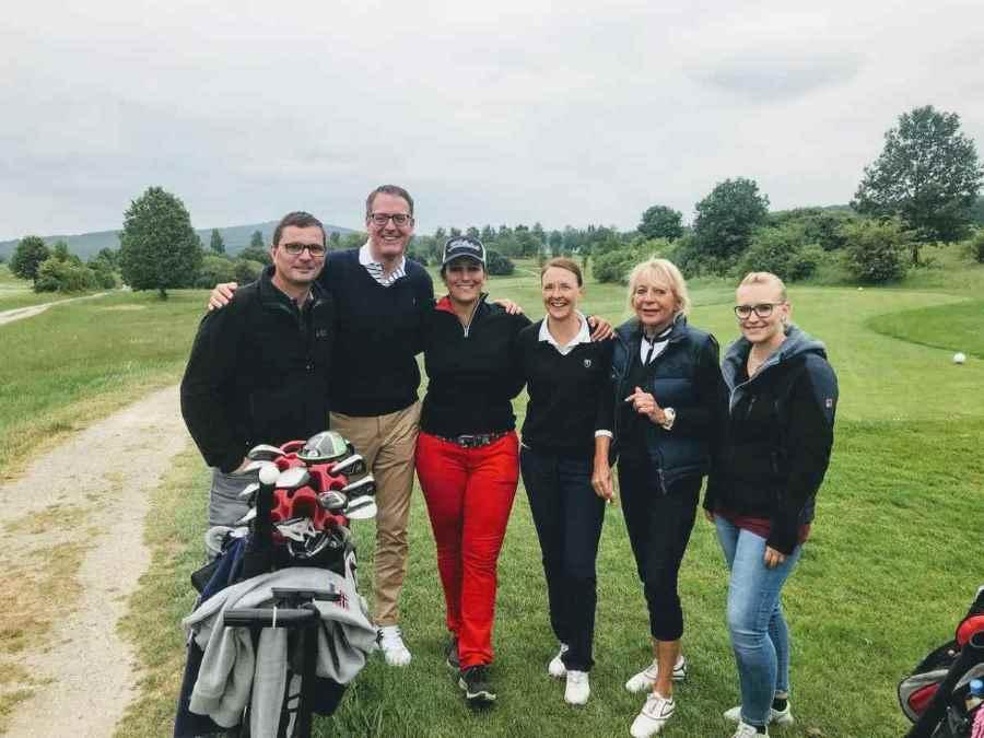Gemeinsam Golfen Turnier Event am 18. Mai 2018 Flight von Michaela Waterkamp