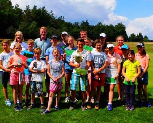 Golfclub Praforst Sommercamp 2018 Gruppenbild