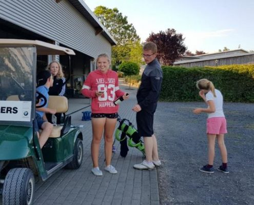 Golfclub Praforst Sommercamp 2018 mit viel Spass