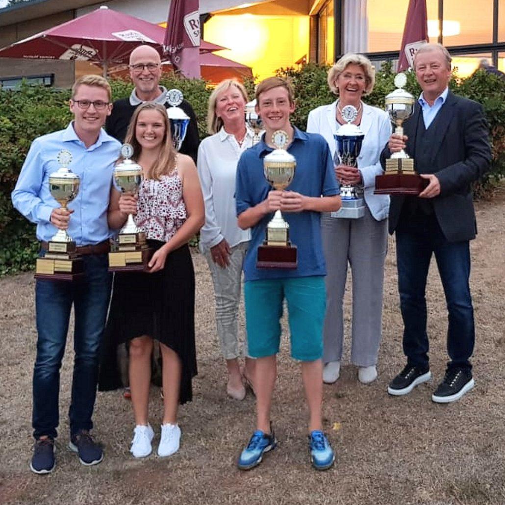 Unsere Golfclub Praforst Clubmeister 2018 - Herzlichen Glückwunsch an alle Sieger
