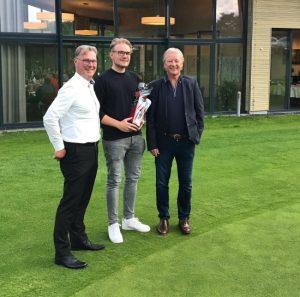 Herrenturnier Job-AG Masters - Moritz Hohmann mit glänzendem Ergebnis von 1 und Par