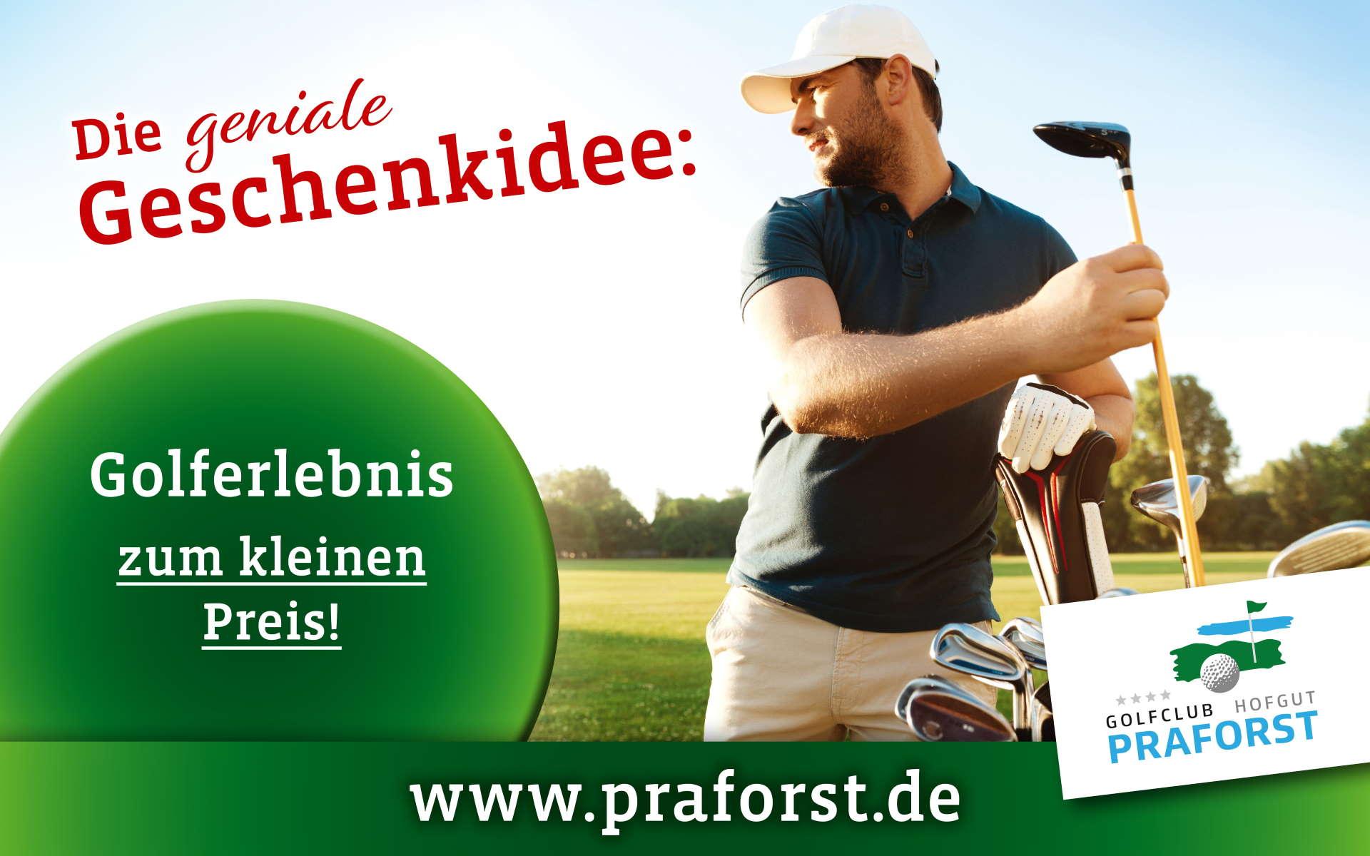 Golfstarter Paket Golfclub Praforst Geschenkidee zum kleinen Preis_web