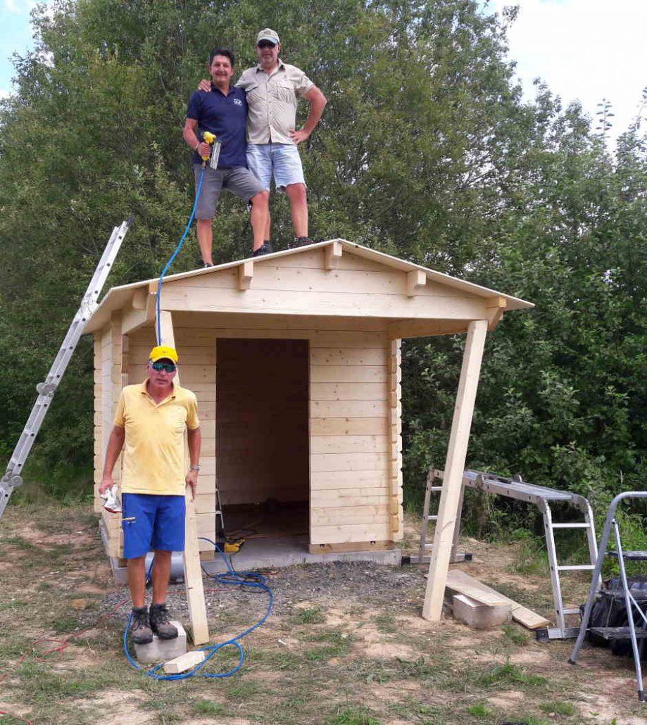 Fertigstellung WC Anlage Westkurs