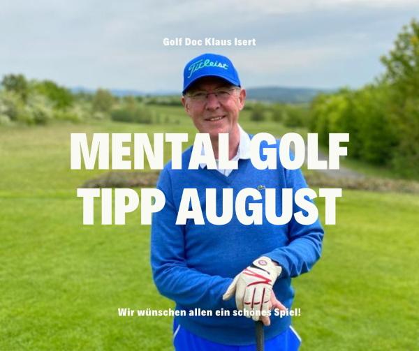 Golfclub Praforst Mental Tipp Klaus Isert