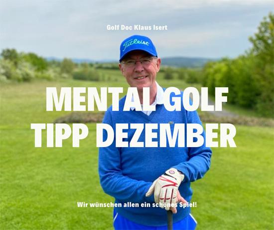 Golfclub Praforst Mental Tipp Dezember 2020